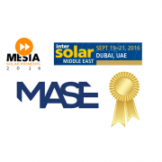 MASE wins Gold at Intersolar